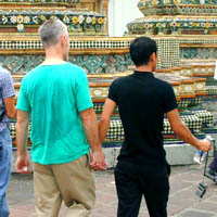 Gay men in Thailand: Western gay men find themselves warmly welcomed by their Thai counterparts.